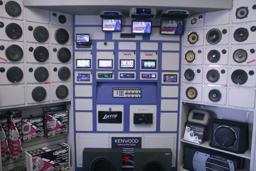 Car Stereo Audio Display Showroom Pictures