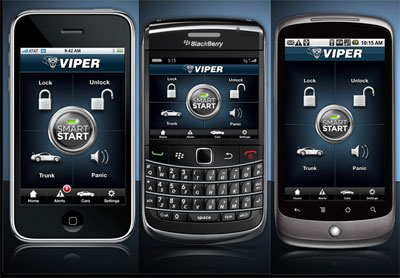 Viper Smart Start For iPhone Blackberry and Android