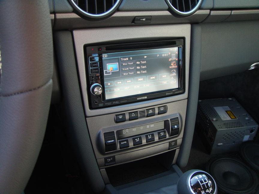 2008 Porsche Cayman S - Lotts Auto Stereo